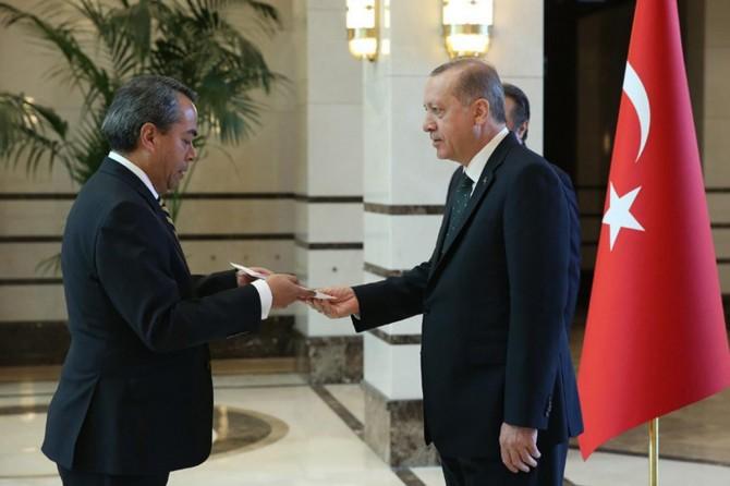 Meksika Büyükelçisinden güven mektubu