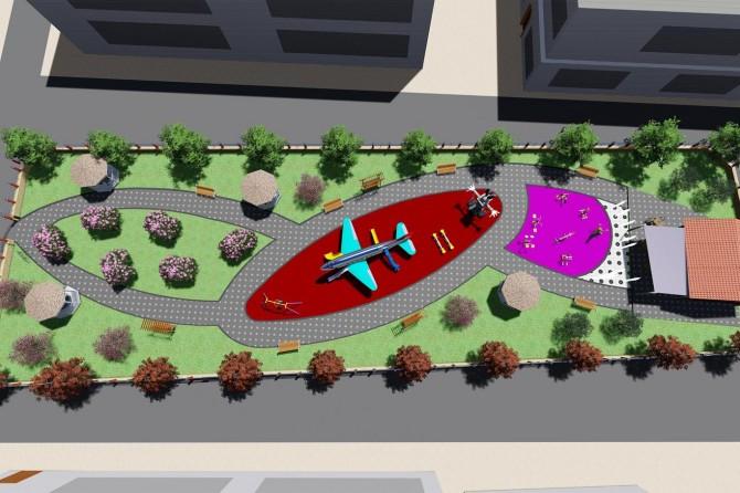 İpekyolu Belediyesi ilçeye yeni park kazandırıyor