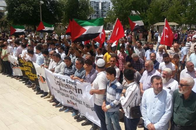 Adana'dan siyonist terör çetesine tepki