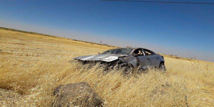 Çınar Beşpınar yakınlarında trafik kazası: 5 yaralı