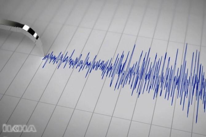 Çanakkale Ayvacık'ta 3,5 büyüklüğünde deprem
