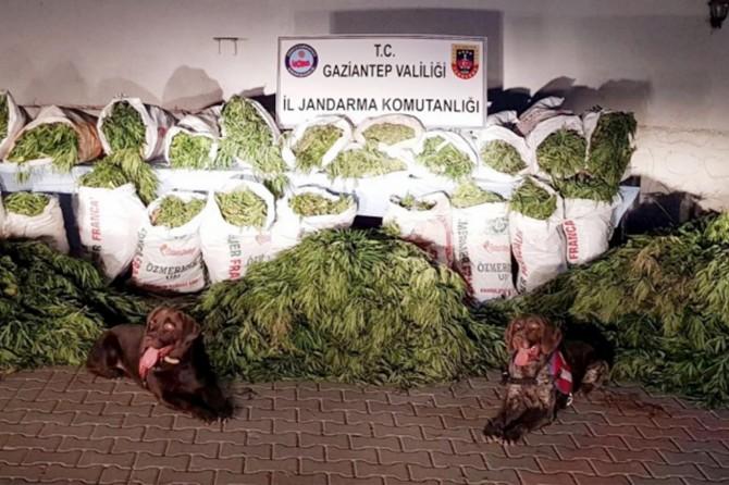Gaziantep Oğuzeli'de uyuşturucu operasyonu