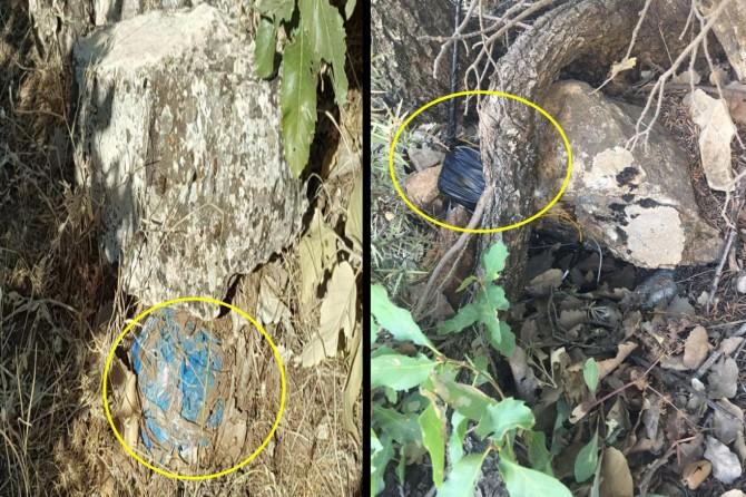 Diyarbakır Dicle'de 2 el yapımı patlayıcı imha edildi