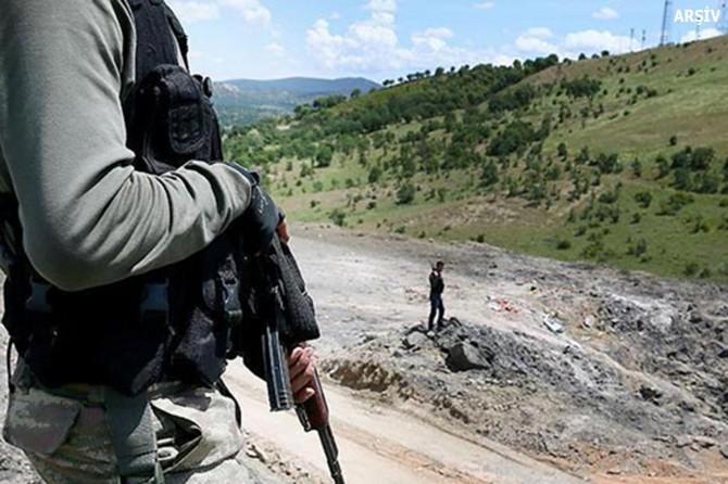 Bingöl Adaklı'da 1 PKK'li öldürüldü