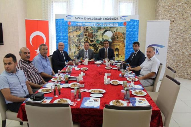 Diyarbakır Sosyal Güvenlik İl Müdürleri Batman'da toplandı