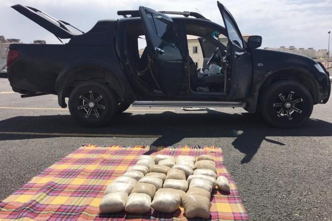Van Edremit'te 30 kilo eroin ele geçirildi