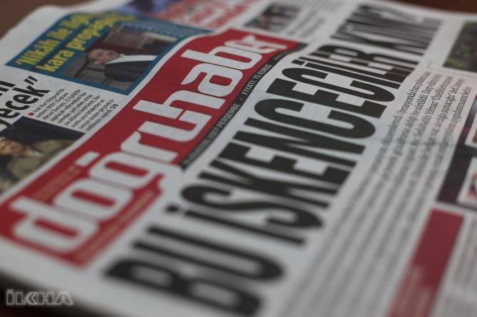 Belavkerê rojnameya Dogruhaberê ji teref polêsan ve hatdesteserkirin
