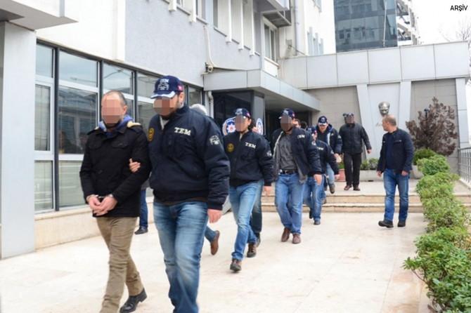 Gaziantep'te FETÖ operasyonunda 10 kişi tutuklandı