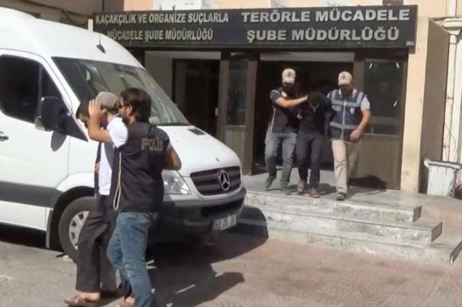 IŞİD operasyonlarında 4 gözaltı