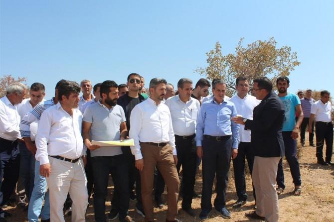 TBMM Başkanvekili Ahmet Aydın, Adıyaman Kahta'da ziyaretlerde bulundu
