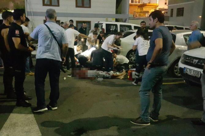 İstanbul Emniyetinde polise bıçaklı saldırı