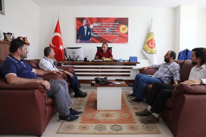 DİMED'ten Muş Gazeteciler Cemiyetine Ziyaret