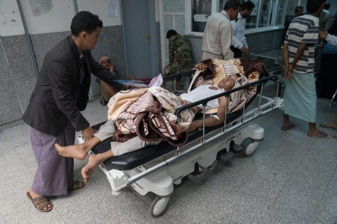 Yemen'de kolera vakası 500 bine ulaştı