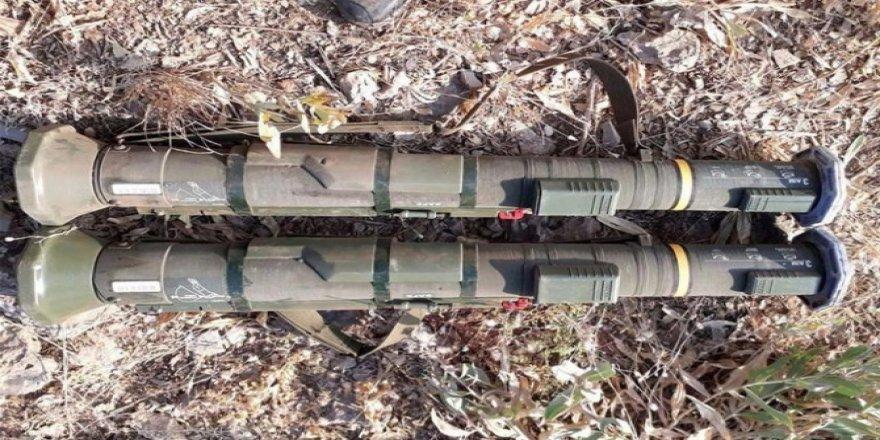 PKK'ye ait İsveç menşeli tanksavar füzeleri ele geçirildi