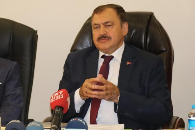 Orman ve Su İşleri Bakanı Eroğlu Bingöl'de