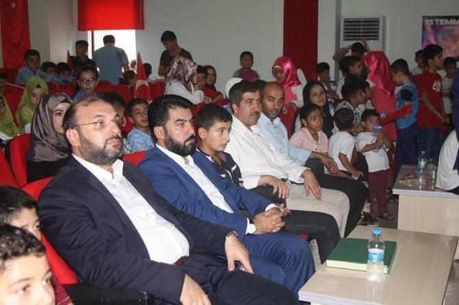 Nusaybin'de yaz Kur'an kursu yıl sonu programı