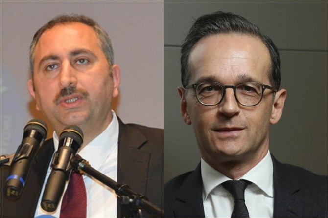 Adalet Bakanı Gül Alman mevkidaşıyla görüştü