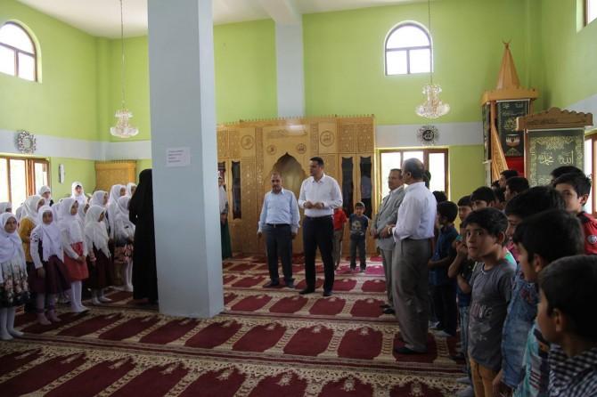 Öztürk'ten Kur'an kurslarına ziyaret