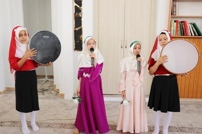 Gaziantep'te yaz Kur'an kursu yıl sonu programı