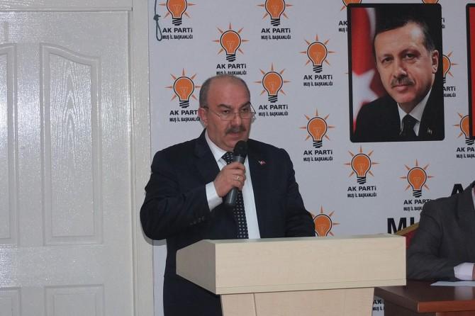 AK Partili Muş il başkanı istifa etti