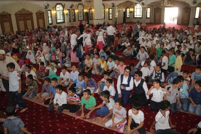 Midyat'ta yaz Kur'an kursu yılsonu programı