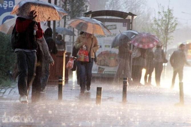 Meteorolojiden bazı illere sağanak yağış uyarısı