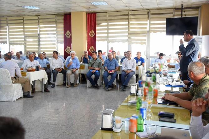 İpekyolu Belediyesi ilçe değerlendirme toplantısı yaptı