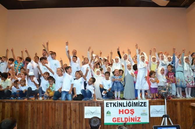Siverek'te çocuklara yönelik namaz programı düzenlendi