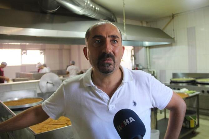 Diyarbakırlı tatlı imalatçıları yükselen fıstık fiyatlarına tepkili