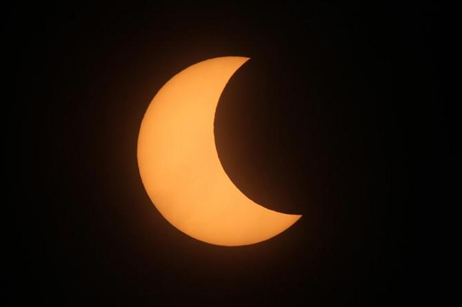 ABD'de güneş tutulması başladı