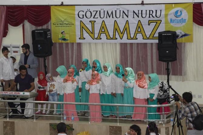 """Kızıltepe'de """"Hayat Namazla Güzeldir"""" etkinliğine yoğun ilgi"""
