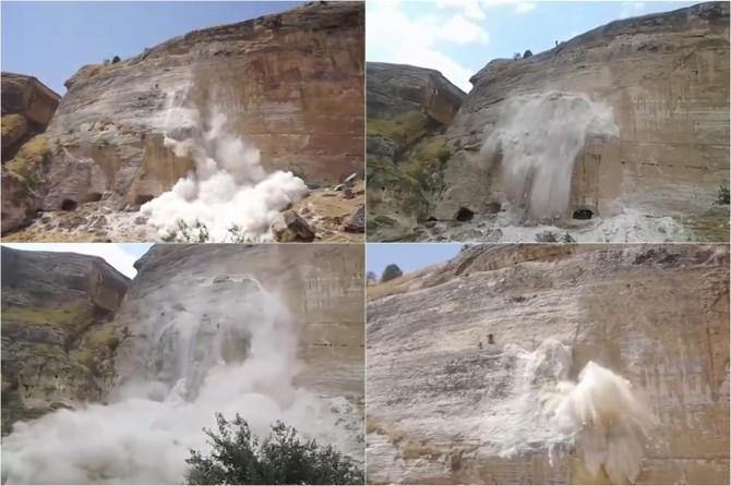 Hasankeyf'te dinamit kullanıldığının görüntüleri ortaya çıktı