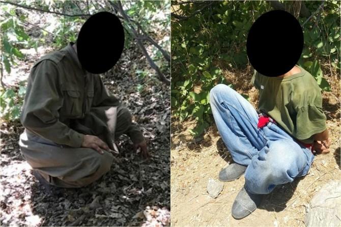 Kulp'ta 2 PKK'li öldürüldü 2'si sağ yakalandı