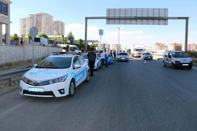 Gaziantep'te sürücülere 53 bin lira ceza kesildi