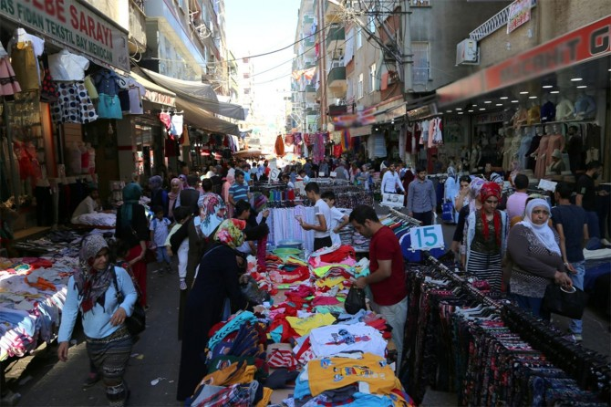 Diyarbakır'da bayram hareketliliği kendini gösterdi