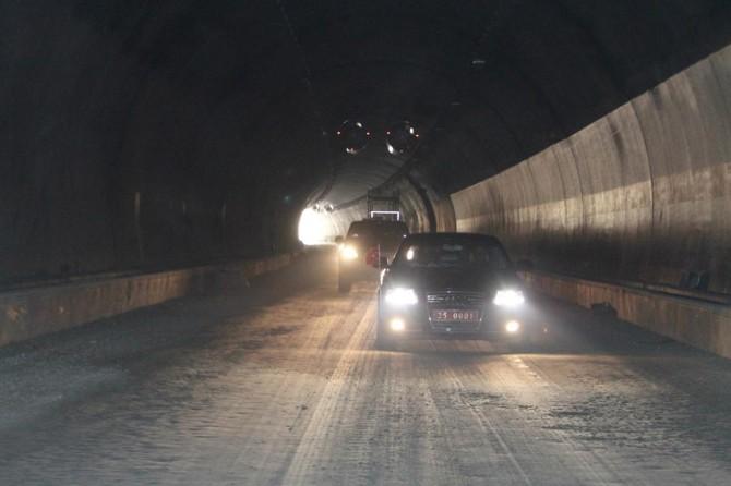 Erzurum Ovit Tüneli yıl sonunda trafiğe açılacak