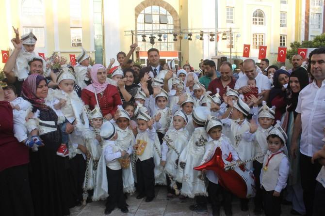 Diyarbakır Bismil'de toplu sünnet şöleni düzenlendi video foto