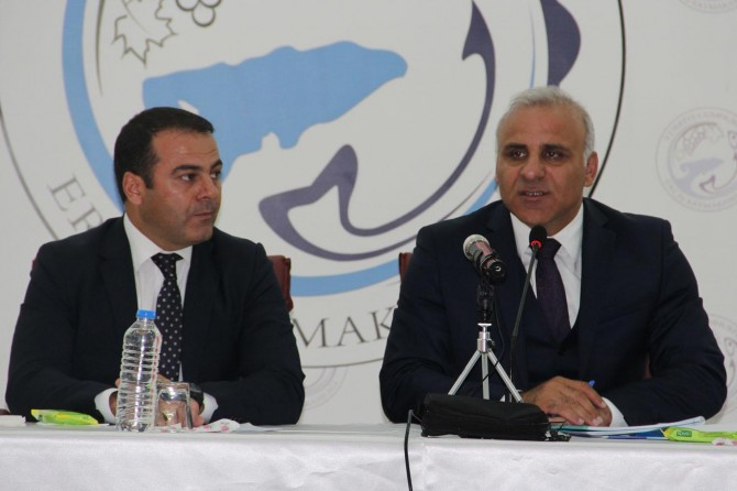 """""""Kış gelmeden Erciş Devlet Hastanesini hizmete açacağız"""""""