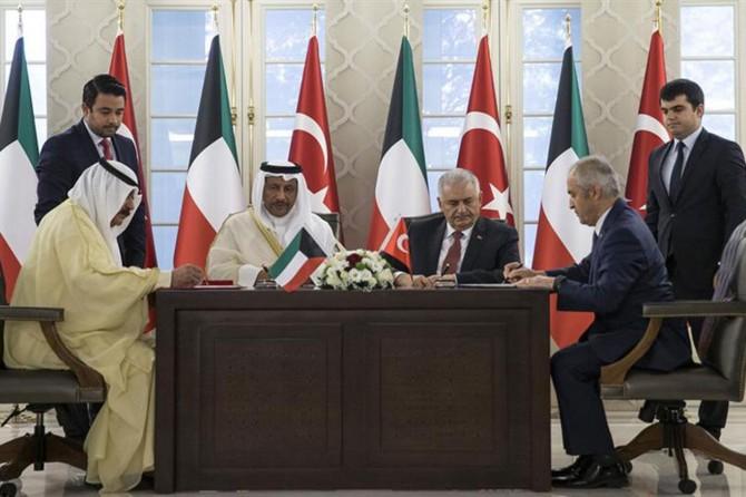 Kuveyt Başbakanı es-Sabah Ankara'da