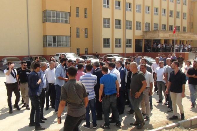 Mardin Nusaybin'de çatışmalarda tahrip olan okul eğitime açıldı