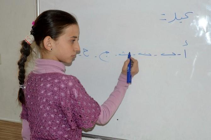 Gaziantep'te 70 bin Suriyeli çocuk eğitime kazandırıldı