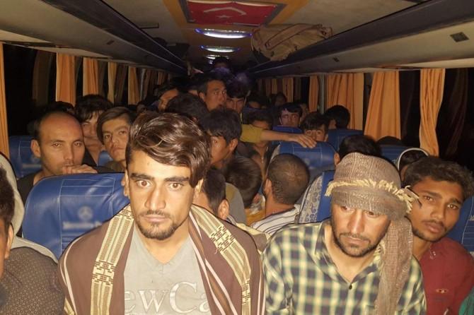 Ağrı Valiliği: Yabancı uyruklu 142 kişi yakandı
