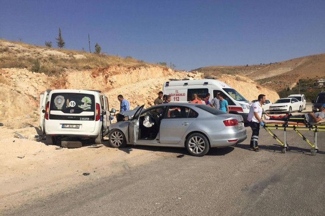 Gaziantep'te kaza: Biri ağır 2 yaralı