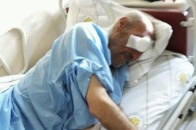 Gözleri oyulan yaşlı adam hayatını kaybetti