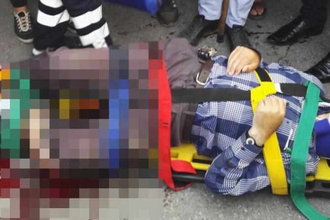 Tatvan'da kamyonun çarptığı Multiple Skleroz hastası yaralandı