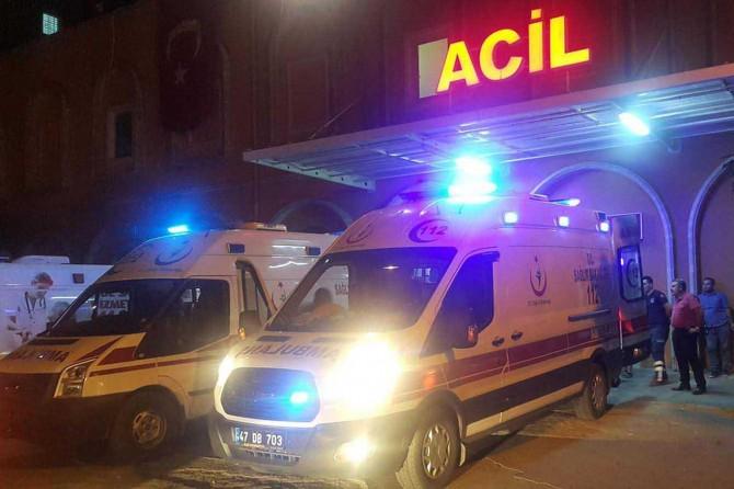 Mardin'de silahlı kavga: 2 yaralı