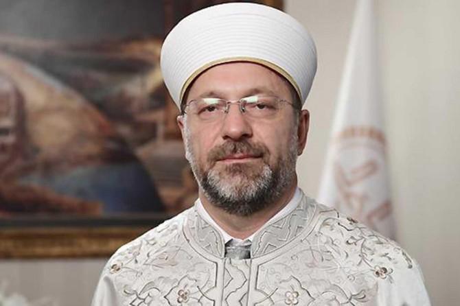 Diyanet İşleri Başkanı Erbaş'tan 'Hicri Yeni Yıl' mesajı