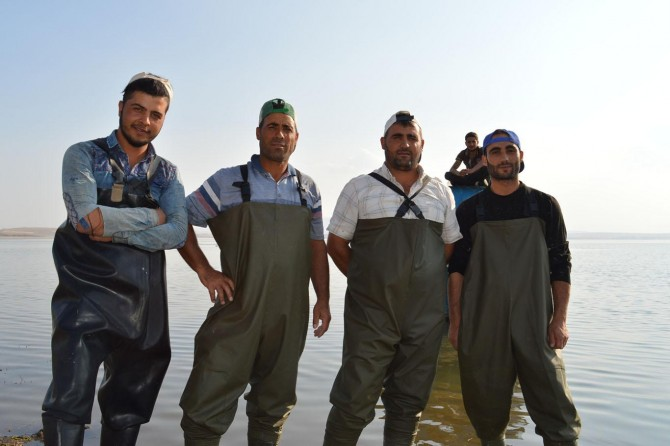 Nazik Gölü balıkçıları balık yokluğundan şikâyetçi