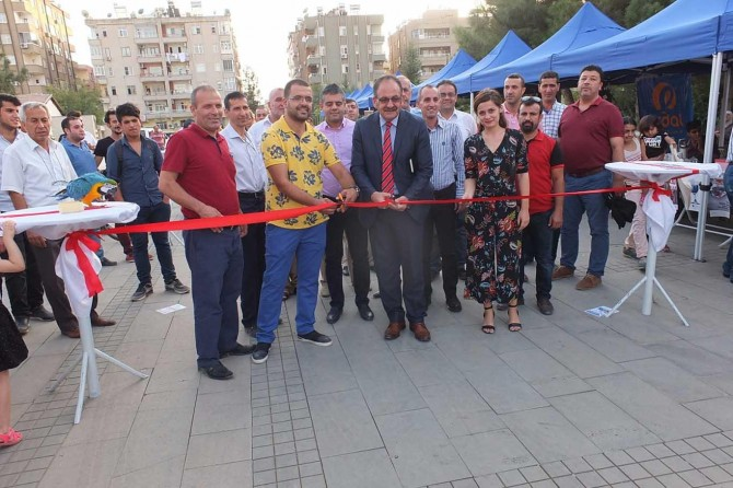 Mardin'de sokak hayvanları için kermes düzenlendi