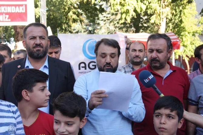 Adıyaman'da Mehdi Akif için gıyabi cenaze namazı kılındı